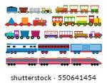 toy train vector illustration.   Shutterstock .eps vector #550641454