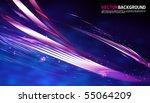 abstract vector wave | Shutterstock .eps vector #55064209
