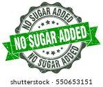 no sugar added. stamp. sticker. ...   Shutterstock .eps vector #550653151