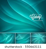curvy abstract background.... | Shutterstock .eps vector #550663111