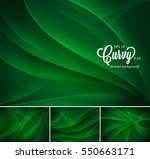 curvy abstract background.... | Shutterstock .eps vector #550663171