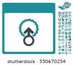 cell penetration calendar page... | Shutterstock .eps vector #550670254