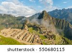 machu picchu  peru | Shutterstock . vector #550680115