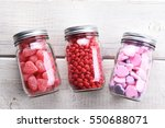 Canning Jars Laying On Their...