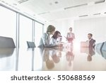 business people in a typical... | Shutterstock . vector #550688569