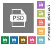psd file format flat icons on...