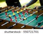 table soccer | Shutterstock . vector #550721701
