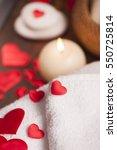 wellness decoration  | Shutterstock . vector #550725814