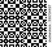 vector seamless pattern.... | Shutterstock .eps vector #550734937