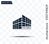 buildings icon for company | Shutterstock .eps vector #550749829