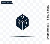 vector illustration of dice...   Shutterstock .eps vector #550765087