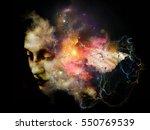 Surreal Female Portrait Made O...