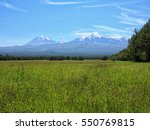 russia  far east. nature of... | Shutterstock . vector #550769815