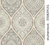 seamless abstract pattern with... | Shutterstock .eps vector #550839151