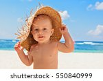 funny photo of happy baby boy... | Shutterstock . vector #550840999