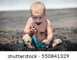 funny photo of happy baby boy... | Shutterstock . vector #550841329