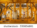 mixed yellow pipes and... | Shutterstock . vector #550856881