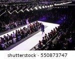 fashion show  a catwalk event ...   Shutterstock . vector #550873747