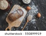 Baking Bread At Home On A...