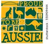 Funky Australia Day Card In...