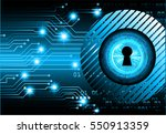 safety concept  closed padlock...   Shutterstock .eps vector #550913359