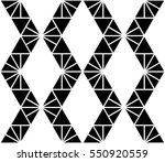 black and white color zigzag...   Shutterstock .eps vector #550920559