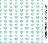 seamless pattern with mint... | Shutterstock .eps vector #550929889