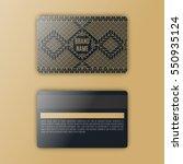 template of membership or... | Shutterstock .eps vector #550935124