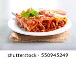 Beef Cannelloni With Tomato...