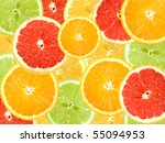 Abstract Background Of Citrus...