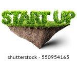 start up business 3d... | Shutterstock . vector #550954165