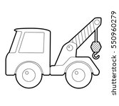 car towing truck icon.... | Shutterstock .eps vector #550960279