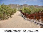 Us Mexican Border In Arizona...