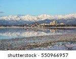anchorage  alaska daytime | Shutterstock . vector #550966957