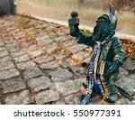 Gnome Statue  Poland. Wroclaw...