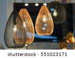 decorating hanging lantern... | Shutterstock . vector #551023171