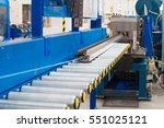 production line for... | Shutterstock . vector #551025121