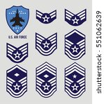 Air Force Stripes  Enlisted
