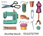 Tools And Materials Sewing And...