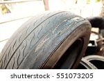 Automotive Tires Damage  Burst...