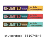 collection banner design for... | Shutterstock .eps vector #551074849