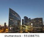 night architecture  ... | Shutterstock . vector #551088751