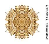 yoga logo  background for... | Shutterstock .eps vector #551093875