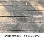 old wooden floor | Shutterstock . vector #551123599