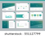 page layout design template for ... | Shutterstock .eps vector #551127799