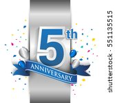 5th Anniversary Logo With...