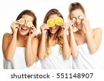 picture showing group of happy... | Shutterstock . vector #551148907