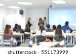 staff training at the... | Shutterstock . vector #551173999
