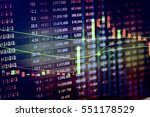 various type of financial and... | Shutterstock . vector #551178529