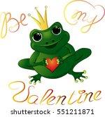 Illustration Of Frog Princess...